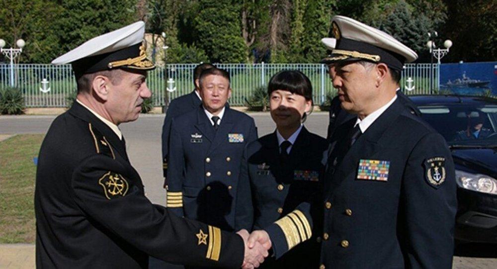 中俄「海上聯合」與新世界輪廓