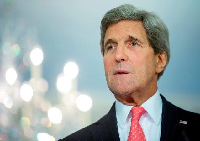 美國務卿:本月18日將在紐約舉行敘利亞問題國際會談