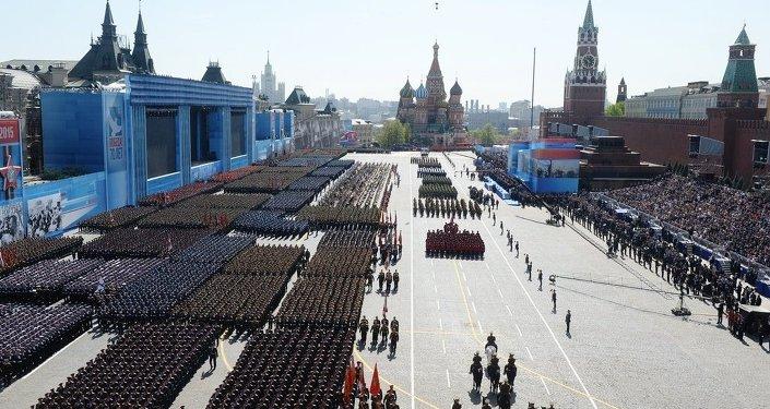 紀念偉大衛國戰爭(1941-1945)勝利70週年閱兵