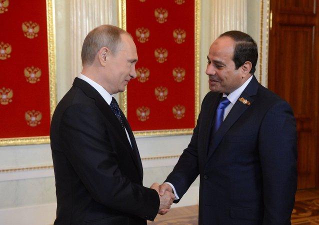 埃及总统:谁都不能否认苏联在战胜纳粹主义中的作用