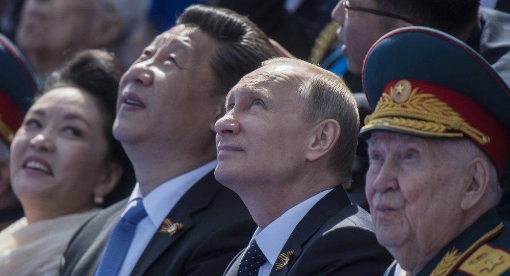 中國國家主席習近平與俄總統普京