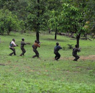纳萨尔派武装分子(资料图片)