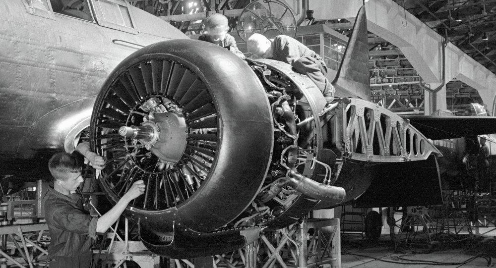苏联制造飞机的工厂(伟大卫国战争时期图片)