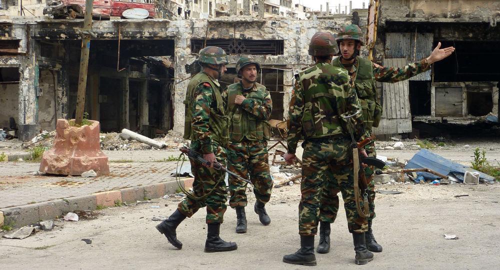 俄空天军支援叙政府军在阿勒颇市击退进攻 消灭武装分子800余人