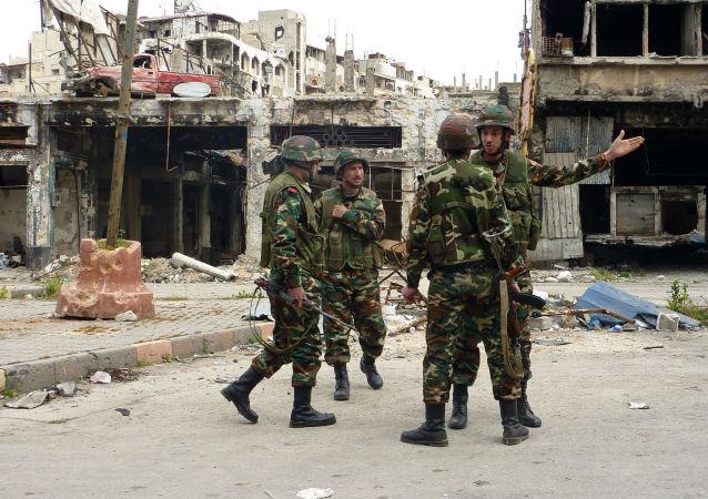 叙利亚军队/资料图片/