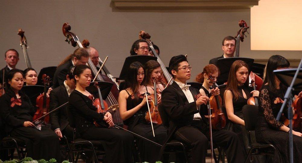俄中音乐会