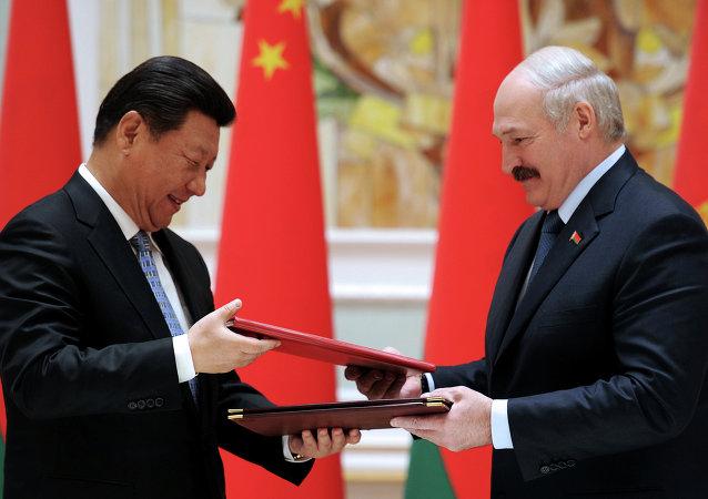 白俄罗斯与中国领导人认可中白工业园发展蓝图