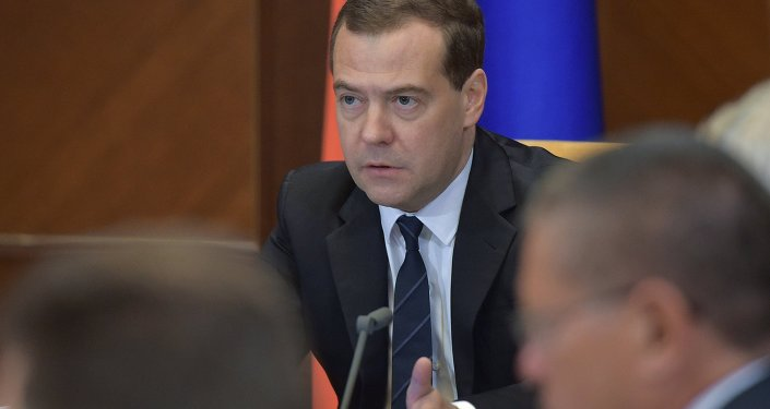 俄羅斯總理德米特里•梅德韋傑夫