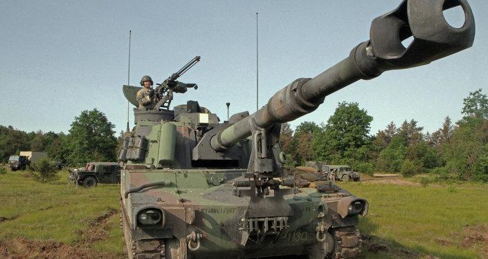 美制M109自走砲
