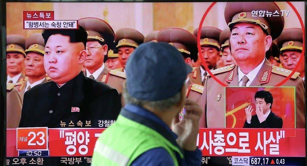 朝鮮人民武力部部長玄永哲