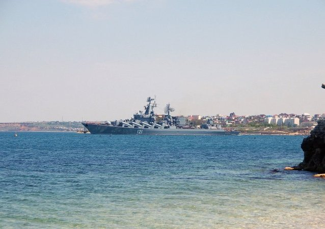 俄「莫斯科」號巡洋艦