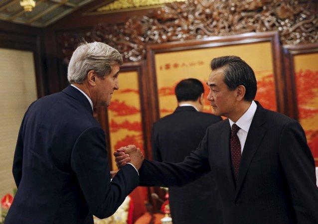 克里:中國應降低在中國南海地區的活動強度