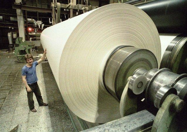 中国企业准备向俄投资15亿美元建造制浆造纸企业