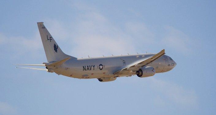 美偵察機飛越南海爭議島礁遭中國空軍8次警告