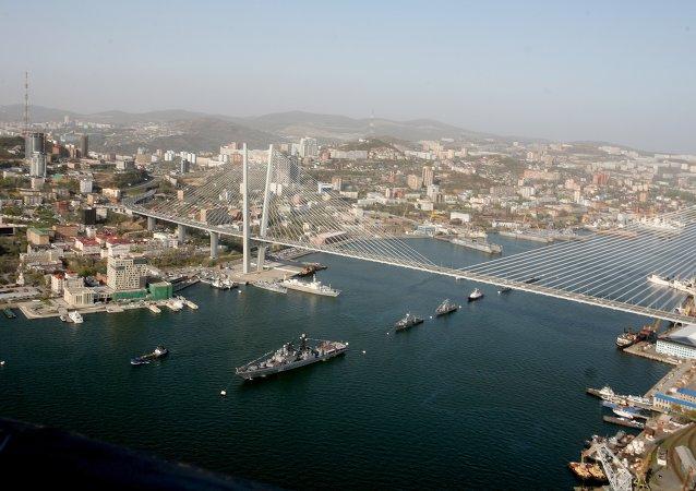 中国海军舰队将于20日抵达符拉迪沃斯托克参加俄中联合军演