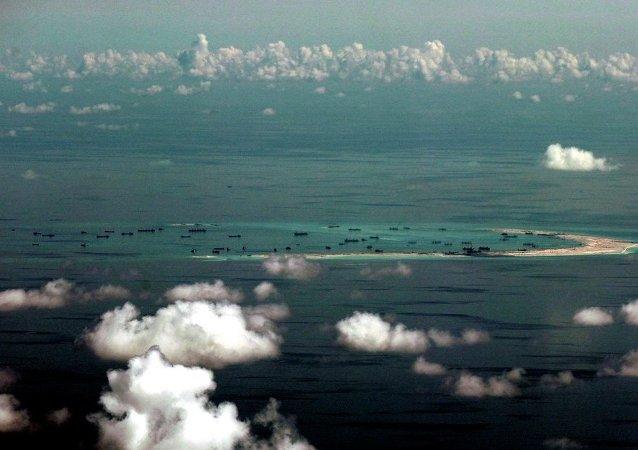 外媒:美国强化在南海的立场