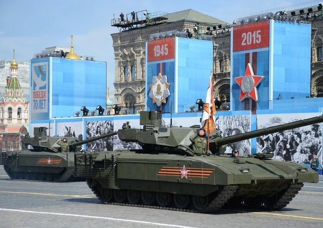 俄副總理:俄坦克製造業發展領先歐美15至20年