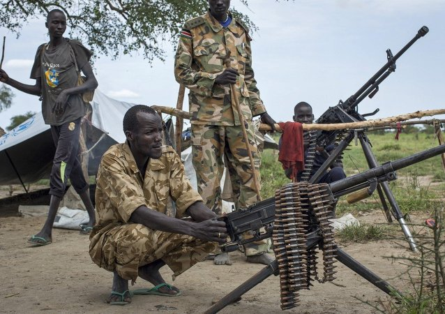 UNICEF:自2013年以來南蘇丹已有1.6萬名兒童拿起武器
