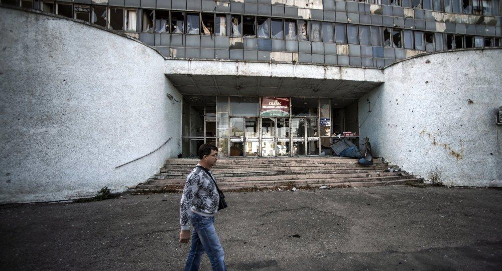 盧甘斯克當局:盧甘斯克大部分大型企業處於停工狀態