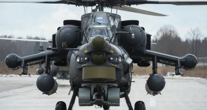 俄最新型米-28HM攻击直升机