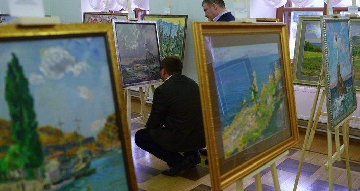 俄画家被盗画作已在瑞士退出拍卖