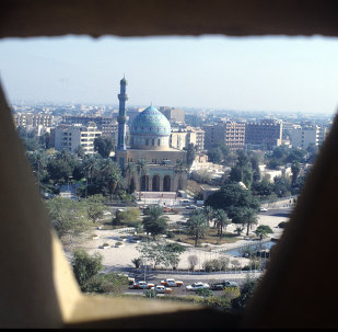 伊拉克首都巴格达市
