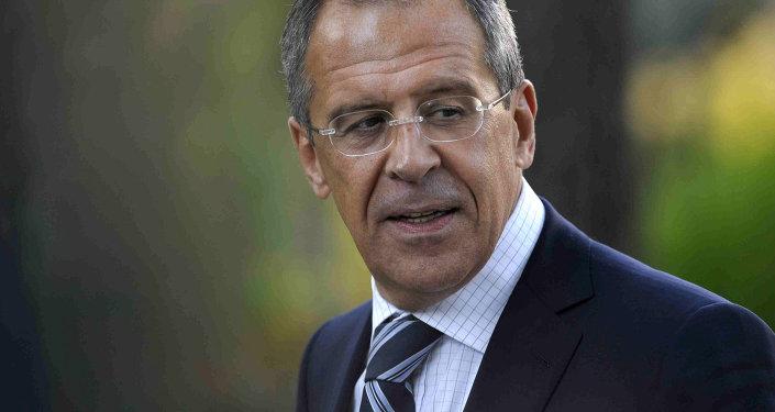 俄罗斯外交部长谢尔盖·拉夫罗夫