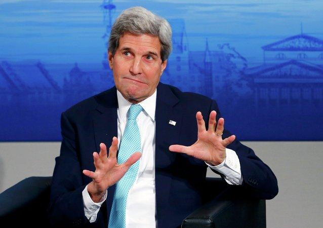 美國務卿:敘利亞危機是美2016年重大外交挑戰