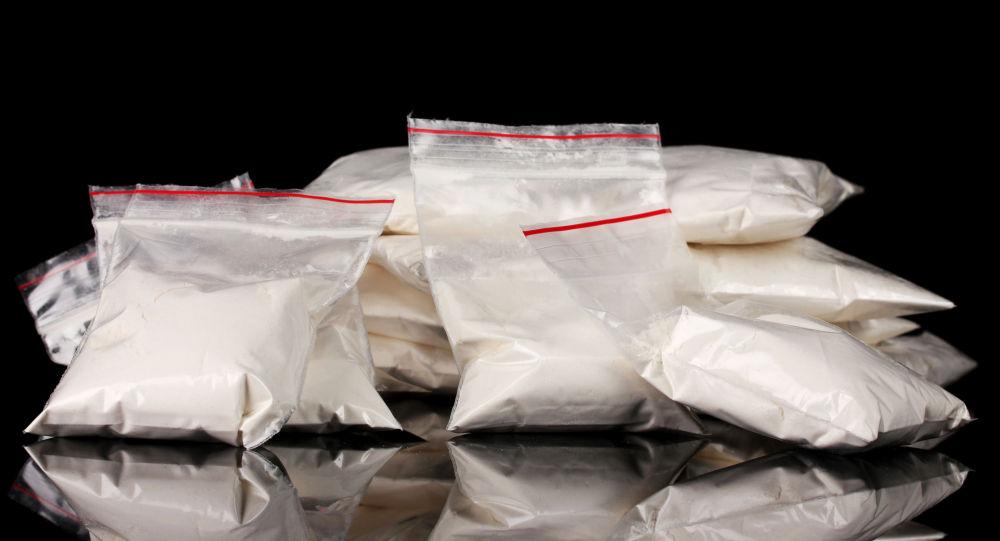 黑山海关人员在一厄瓜多尔集装箱内发现约30公斤可卡因