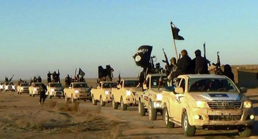 「伊斯蘭國」武裝分子(資料圖片)