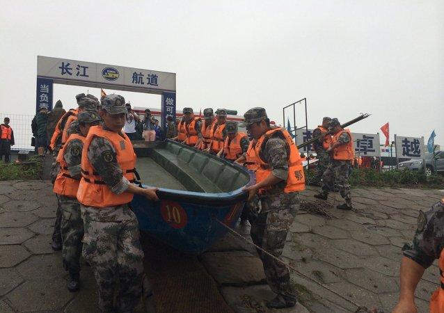 中國「東方之星」號沈船事故已經造成331人死亡