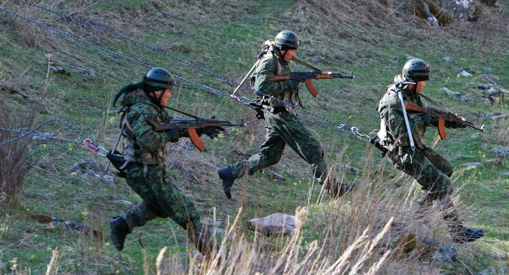 """中国侦察兵在""""金色猫头鹰""""国际比赛中获得亚军"""