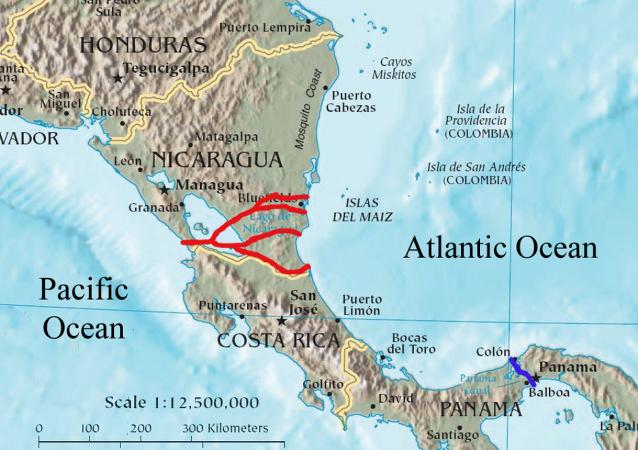 媒体:中企搁置尼加拉瓜运河建设
