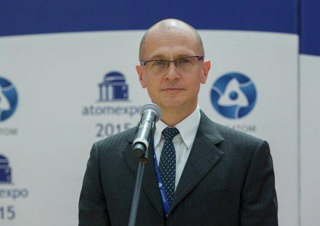 俄羅斯國家原子能公司總裁謝爾蓋·基里延科