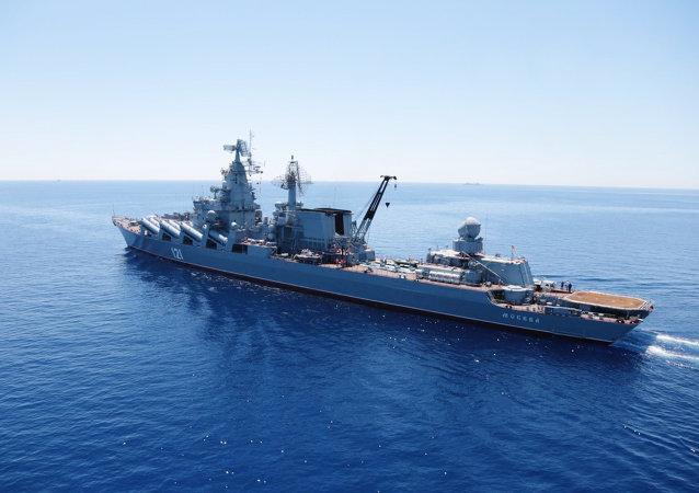俄黑海艦隊艦艇駛入埃及亞歷山大港