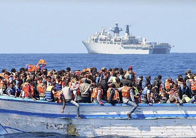 超600人在近四周内试图横渡地中海时被淹死