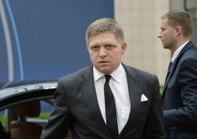 斯洛伐克總理羅伯特•菲喬