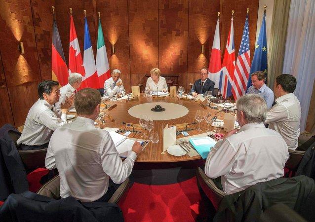 七国集团国家领导人将讨论打击恐怖主义,消除贫困和传染病的措施