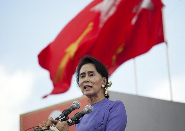 緬甸反對派領導人欲在大選後「高於總統」