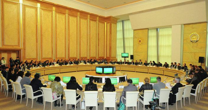 上合组织国家青年创新论坛(2014年10月8日)