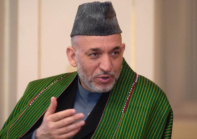 阿富汗前總統哈米德卡爾扎伊