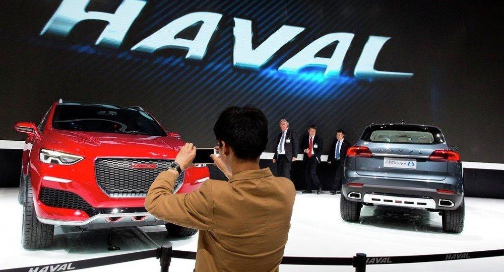 中國哈弗汽車在最近兩個月內已在俄六座城市開設銷售中心