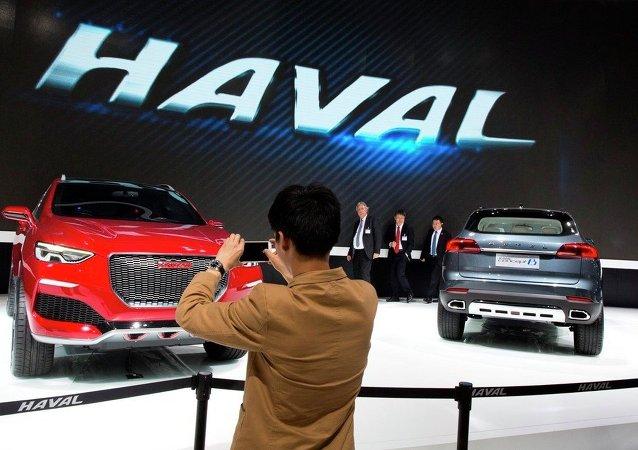 中国品牌汽车扩大在俄市场占有率