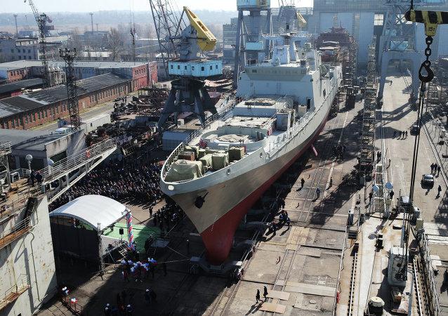 「格里戈羅維奇海軍上將」號護衛艦