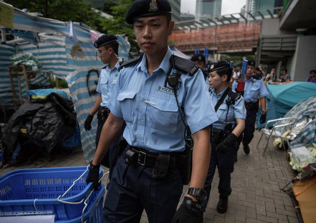 香港警方 (資料圖片)
