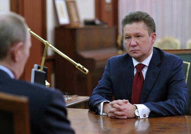 俄气总裁:有关俄中东线输气管道的工作正严格按照计划进行