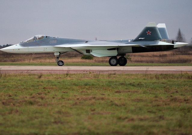 俄第五代戰機T-50