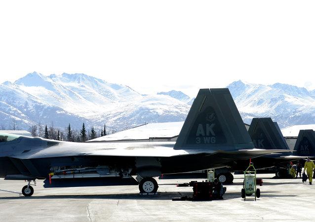 美國F-22戰機