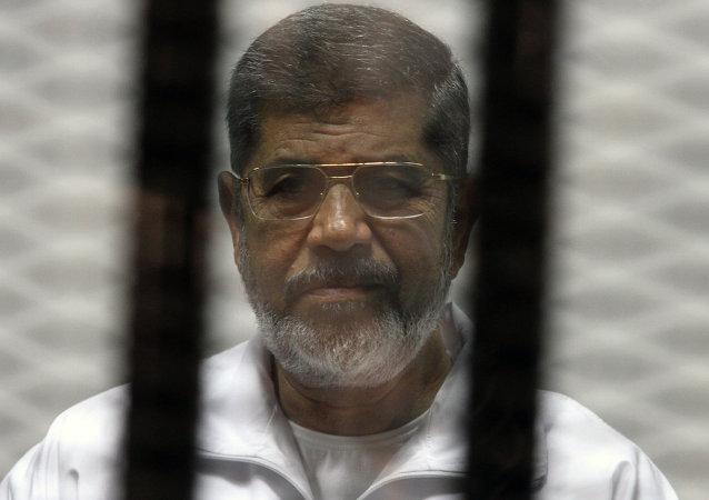 埃及法院維持前總統穆爾西越獄罪死刑判決