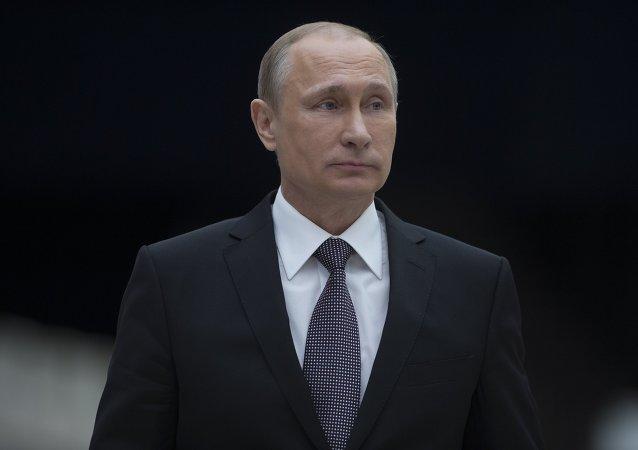 普京抵达斯维尔德洛夫斯克州进行工作视察